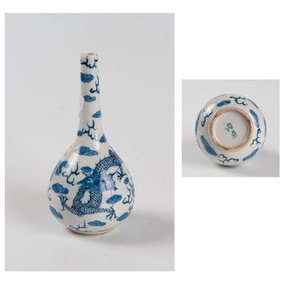 Chine pour le Vietnam, XIXe siècle  Vase...
