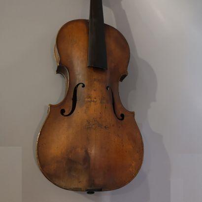 Violon français  Vers 1760-1765  (légères...