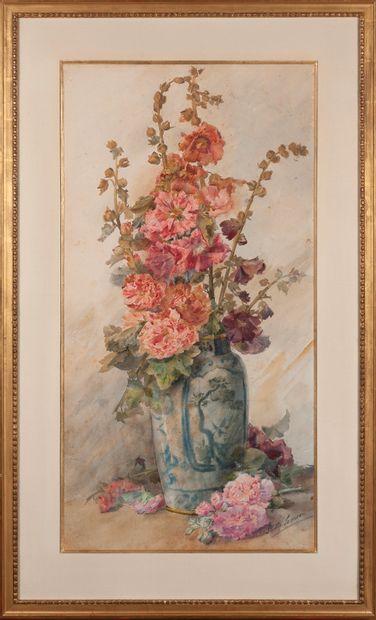 Louise Stella Samson (1880-)  bouquet de...