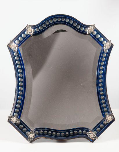 Dans le goût de Murano  Miroir chantourné...