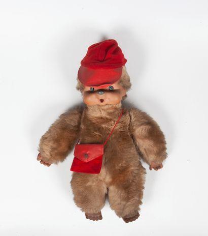 MONCHHICHI dit KIKI  Peluche de singe  Années...