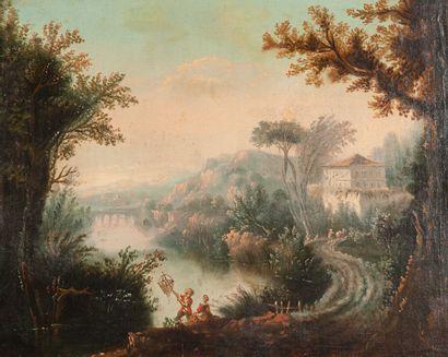 Attribué à Nicolas Jacques JULLIARD (1715-1790)...