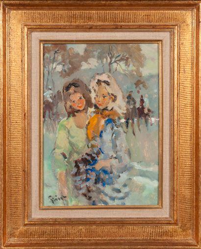 Pierre GRISOT (1911-1995)  Jeunes filles...