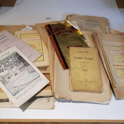 Lot composé de revues Le Creusot, pièces...