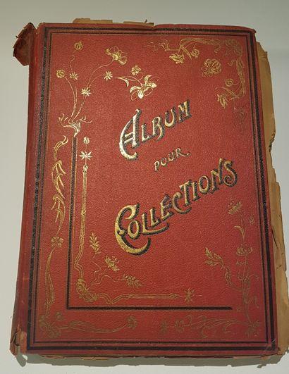 Album de chromolithographies. 1 volume in-folio,...
