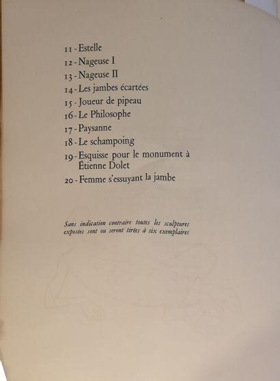 Couturier. Paris, Henri Creuzevault. 1954. 1 volume in-4, broché. Envoi autographe...