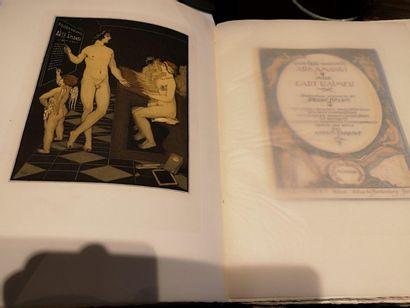 """Un volume """"Ovide, l'art d'aimer""""  Numéro 332/500 illustration par André Lambert..."""