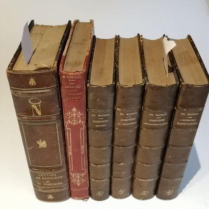 NAPOLÉON. — Ens. de 6 volumes.  LACHIZE (Henri)....