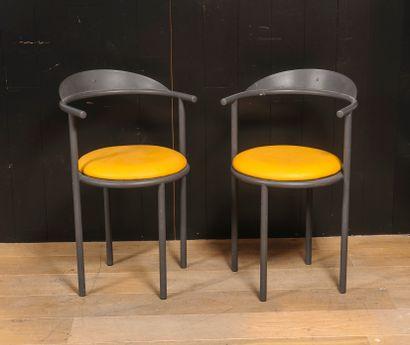 Philippe STARCK (Né en 1949)  Paire de chaises...