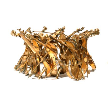 ARMAN (1928 - 2005)  Table-sculpture - 1986...