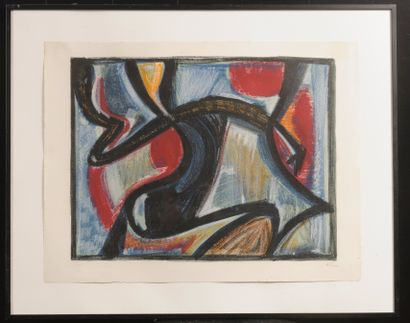 Jean-Michel ATLAN (1913-1960)  Composition...