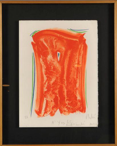 Olivier DEBRÉ (1920-1999)  Composition, 1997...