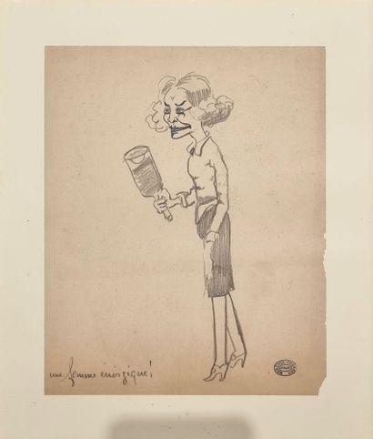 Georges MANZANA-PISSARO (1871 - 1961).  Une...