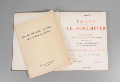 Collection Pierre BONNARD.  Catalogue de...