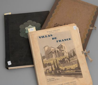 Trois volumes dont :  - Maxime CIZALETTI,...