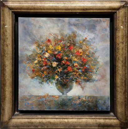 François d'IZARNY (né en 1952).  Bouquet....