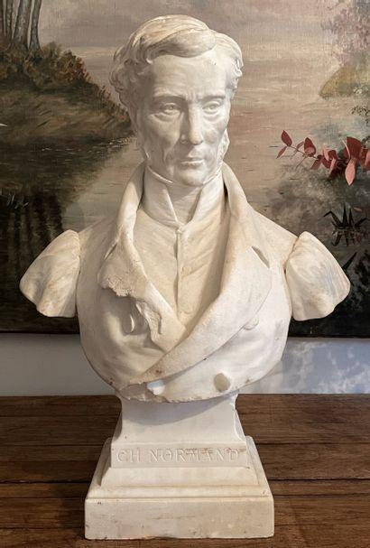 Buste  A l'image de Charles-Pierre-Joseph...