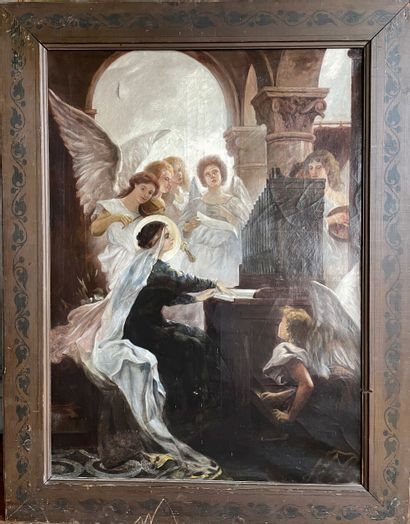 Sainte Cécile  Patronne des musiciens et...
