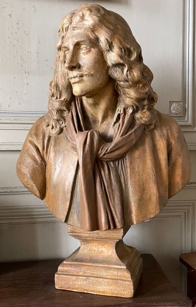 Jean Baptiste Poquelin dit Molière  D'après...