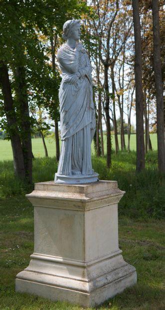 Céres  Statue allégorique à l'image de la...