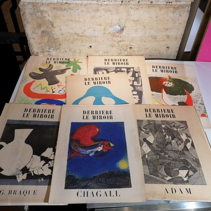 Derrière le Miroir: Braque, Chagall, Miro,...