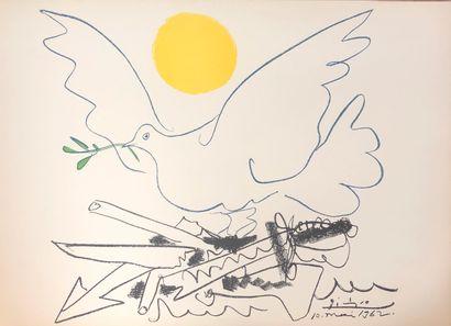 Pablo Picasso (1881-1973) (d'après)  Colombe...