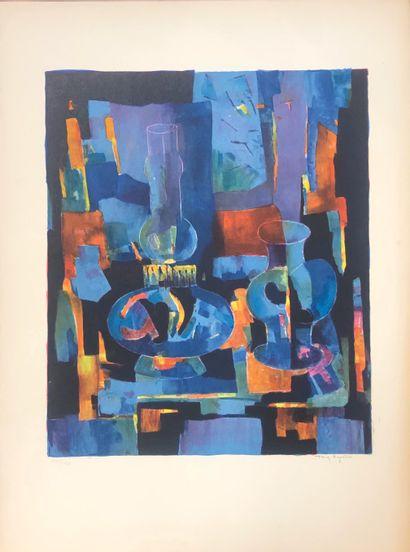 Tony AGOSTINI (1916-1990)  Nature morte au...