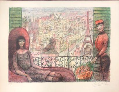 Edouard Joseph GOERG - (1893-1969)  Femme...