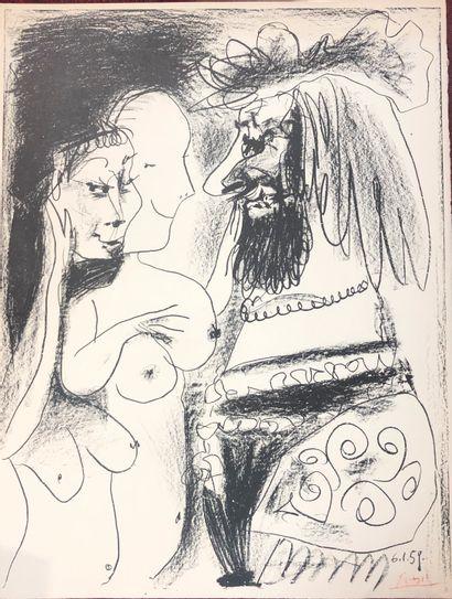Pablo Picasso (1881-1973) (d'après)  Roi...