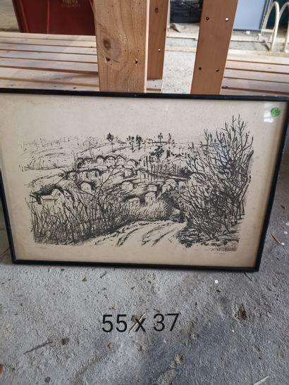 Michel ADLEN (1898-1980)  Arriver au village...