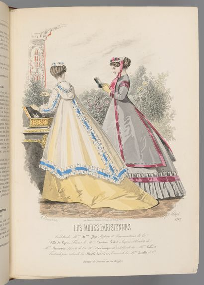 MODE. — Les Modes parisiennes illustrées....