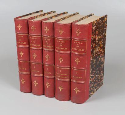 HUGO. Les Misérables. Paris, Pagnerre, 1862....