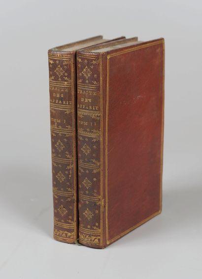 LENGLET DUFRESNOY (Abbé). Traité historique...
