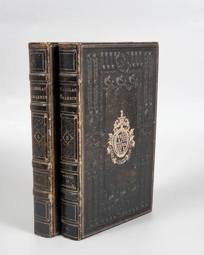 GIRARDIN (Stanislas). Journal et souvenirs,...