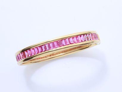 POIRAY  Bracelet jonc ouvrant en or 750 millièmes...
