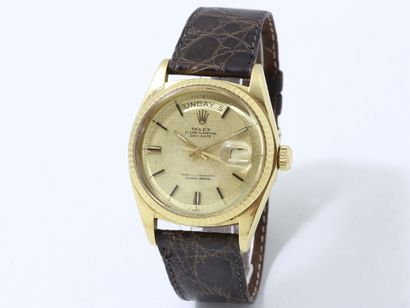 ROLEX ''OYSTER PERPETUAL DAY-DATE''  Montre...