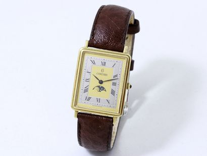 CONCORD  Montre bracelet d'homme en or 585...