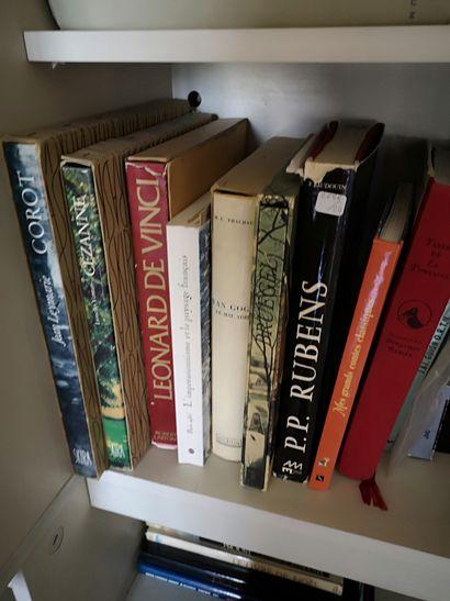 Lot de livres d'art et divers