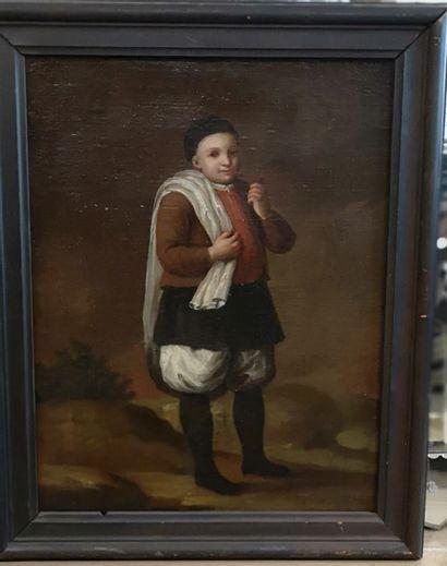 Ecole NAPOLITAINE du XVIIIème siècle  Le...