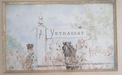 Jules Jacques VEYRASSAT (1828-1893)  Les...