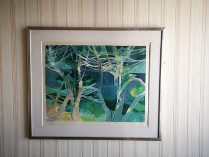 Camille HILAIRE (1916-2004) (d'après)  Forêt...