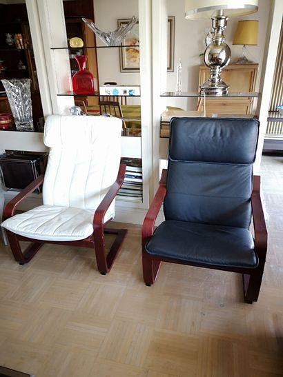 Deux fauteuils confortable