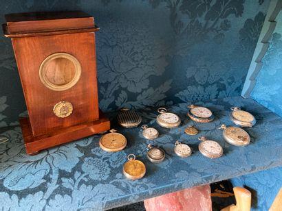 Collection de montre en métal, argent, argent...