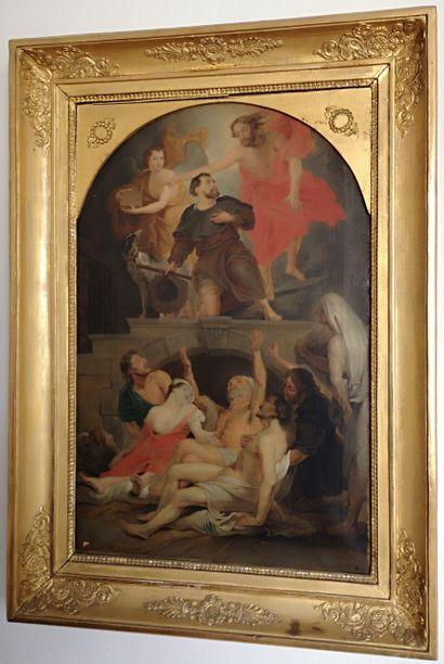 Ecole de la fin du XVIIIe début XIXe  L'apparition...