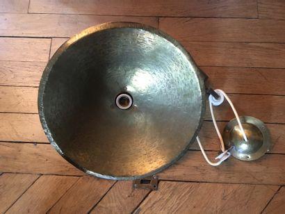 Suspension  Bronze martelé  Années 30/40