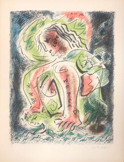 André MASSON (1896-1987)  Peace and Love...