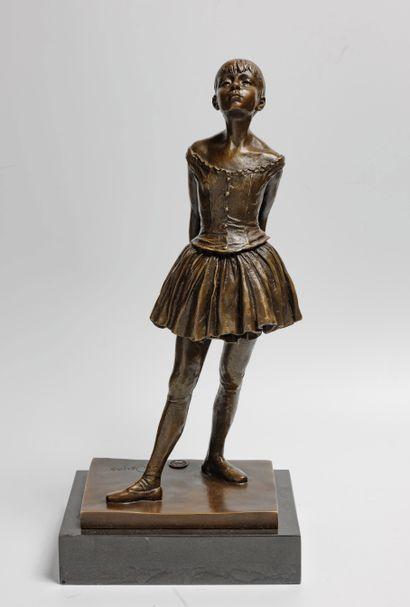 D'après Edgar DEGAS (1834-1917)  Petite danseuse...