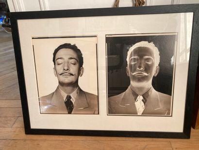 Double portrait de Salvador Dali (positif...