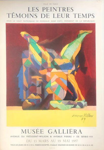 Une affiche Jacques Villon, Musée Galliera...