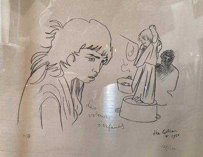 Jean COCTEAU (1889-1963)  Les voleurs d'enfants...